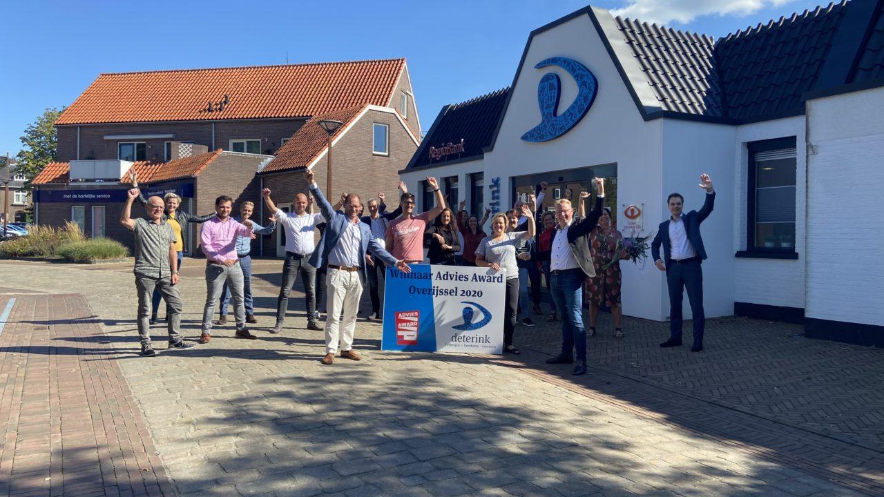 Deterink meest klantgerichte financieel advieskantoor van Overijssel!